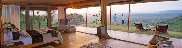 Loisaba Tented Camp Laikipia wildreservaat Kenia