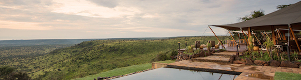 luxe fly-in safari Kenia naar Loisaba Tented Camp op het Laikipia Plateau - Wilderness Adventure