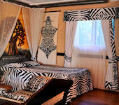 Nakuru lodge kamer interieur suite,Nakuru Nationaal Park in Kenia
