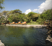 Lake Natron Camp - zwembad