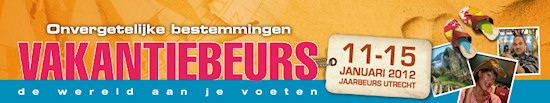 Vakantiebeurs 2011 - Jaarbeurs Utrecht kortingskaarten on-line verkopen