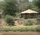 Asnil Samburu Lodge, Samburu reservaat Kenia