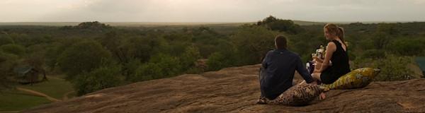 safariparken in Kenia en Tanzania
