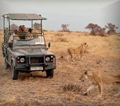 Lake Manze Camp, Selous nationaal park Tanzania